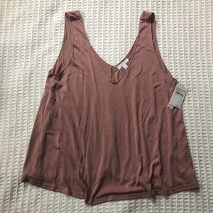 🍁NWT Abound swing tank dusty rose size Large